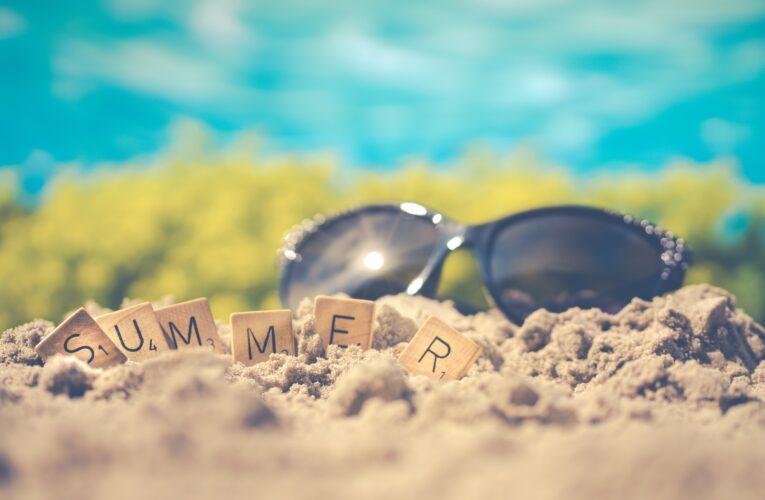 Uteleksaker till sommaren