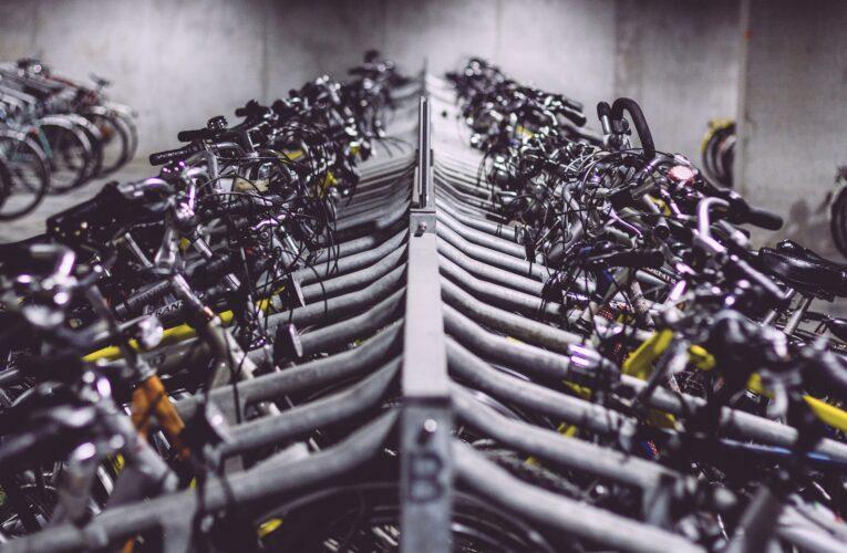 Cykelförvaring året runt